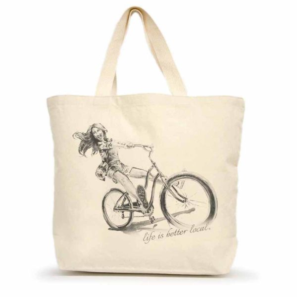 Bike #1 Large Tote