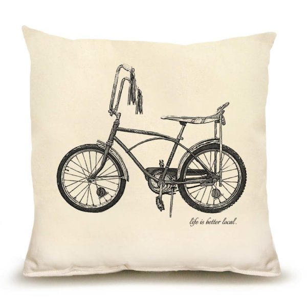 Bike #2 Medium Pillow