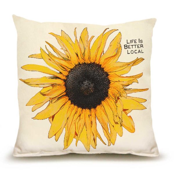 Sunflower Medium Pillow