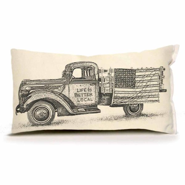 Truck Small Pillow