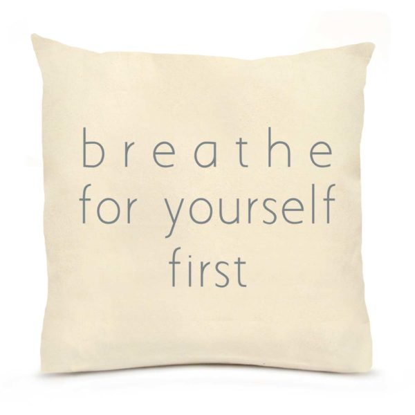 Breathe Large Pillow