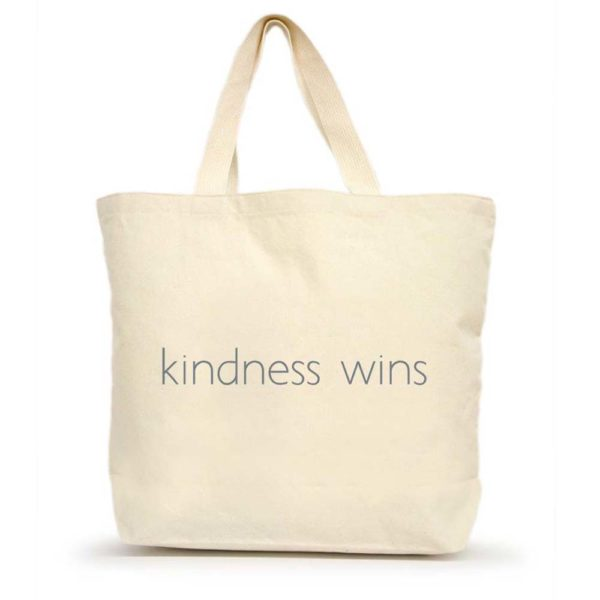 Kindness Wins Large Tote