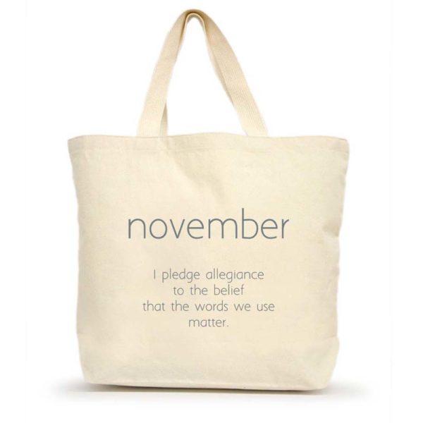 November Large Tote