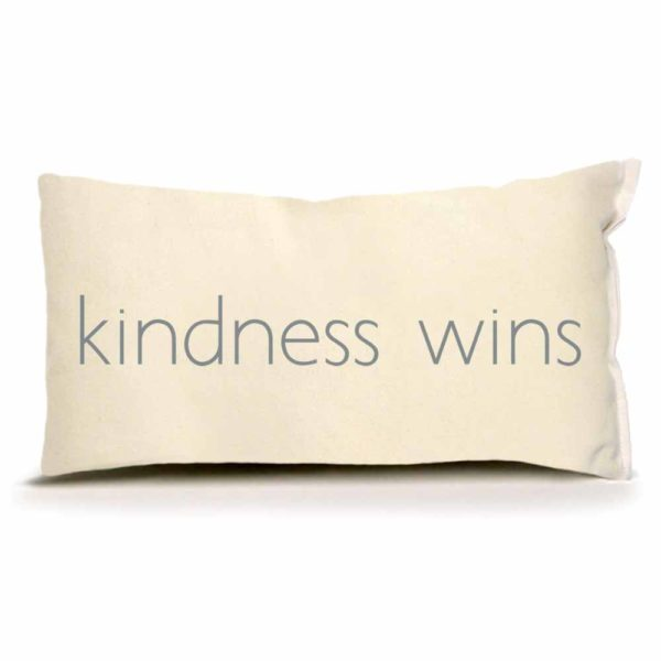 Kindness Wins Pillow