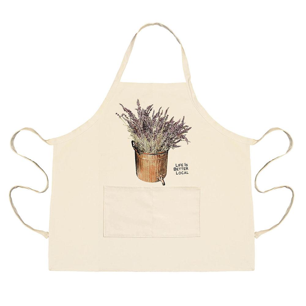 Lavender Apron
