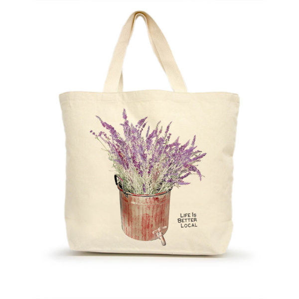 Lavender Large Tote