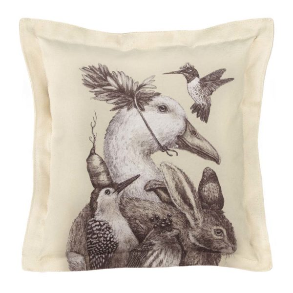 Vicki Sawyer_Square Pillow_A Few Good Friends_Product Shot_WEB