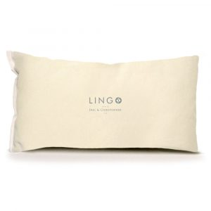 Lingo Small Pillow Back