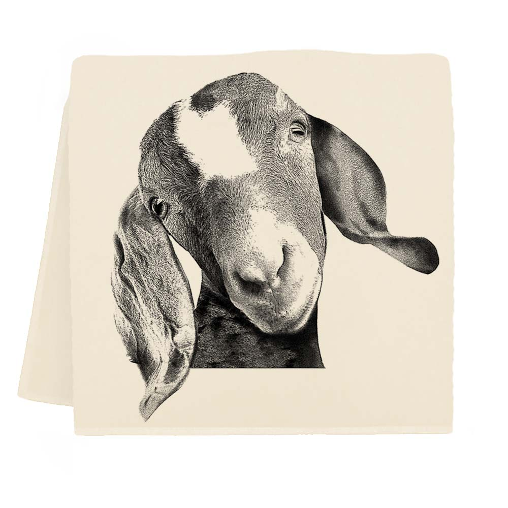 Goat Head Tea Towel