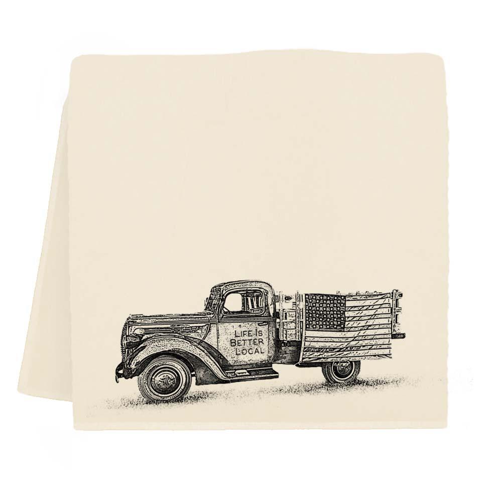 Truck LIBL Tea Towel