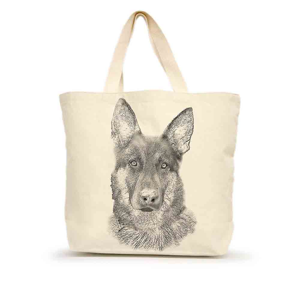 German Shepherd Large Tote