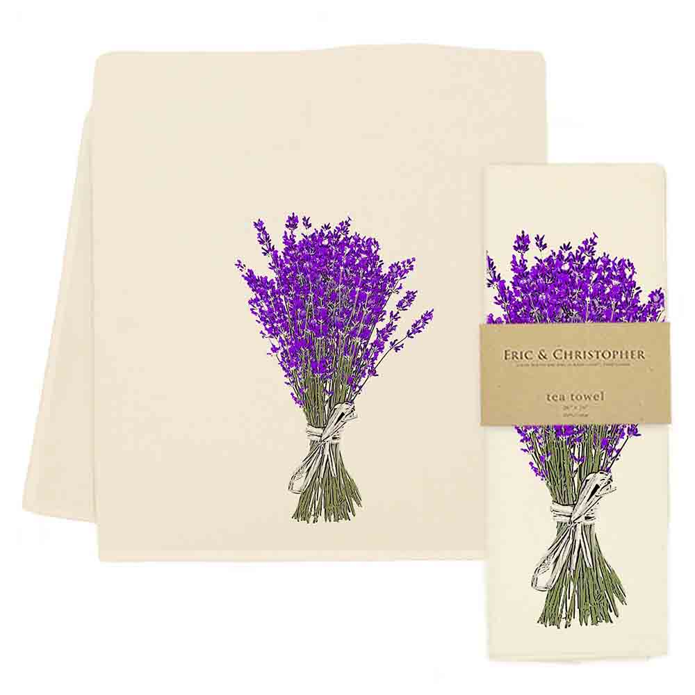 Lavender #2 Tea Towel
