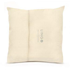 Lingo large pillow back