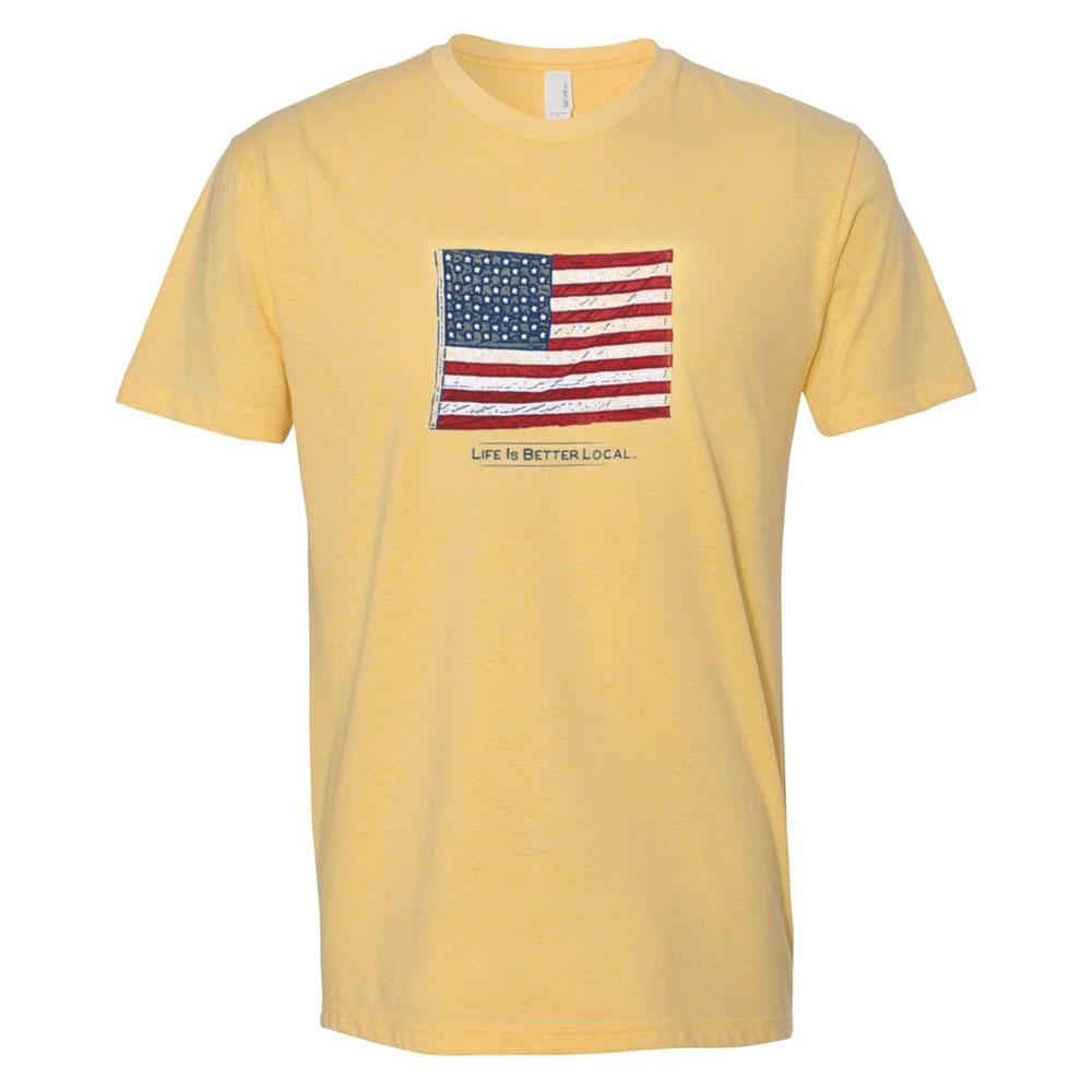 LIBL_T-shirt_Mens-Banana Cream_American Flag_WEB PRODUCT_