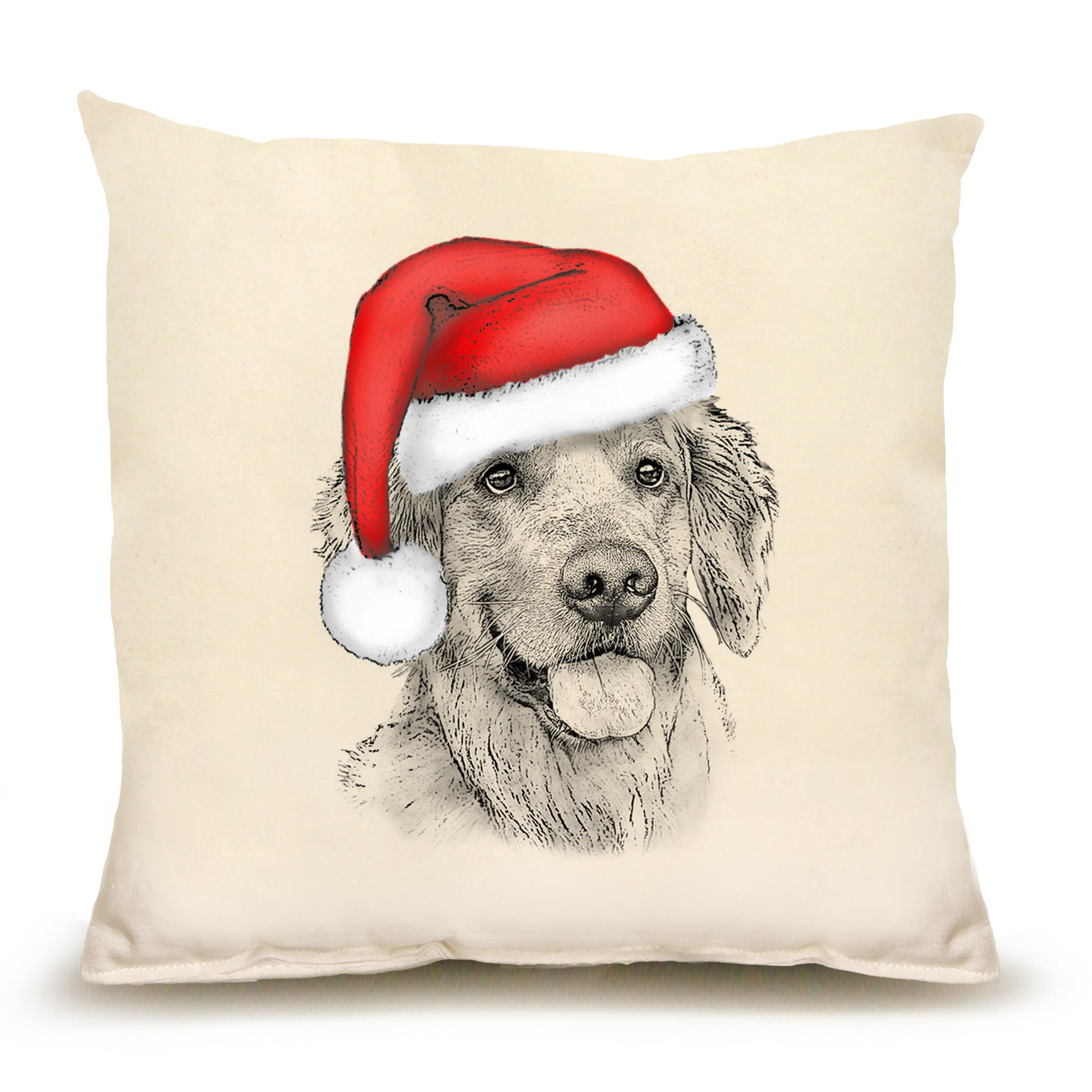 Santa Golden Medium Pillow