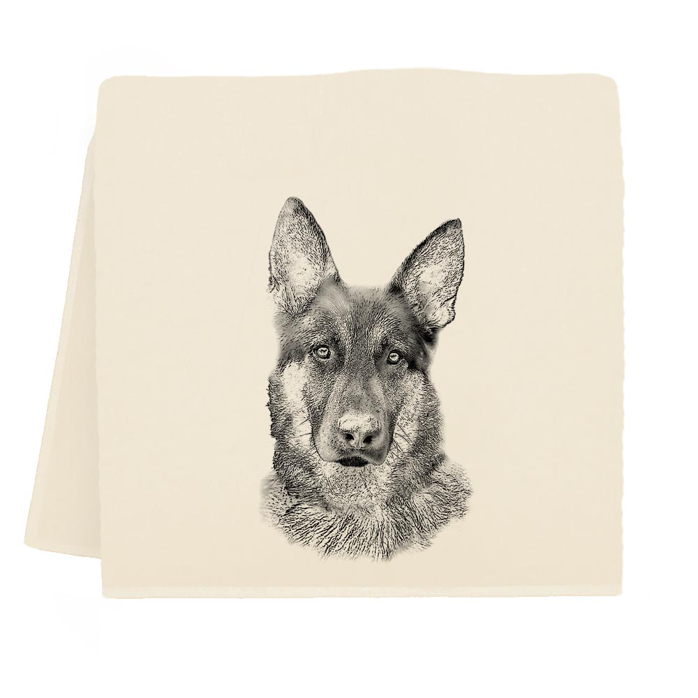 German Shepherd Tea Towel