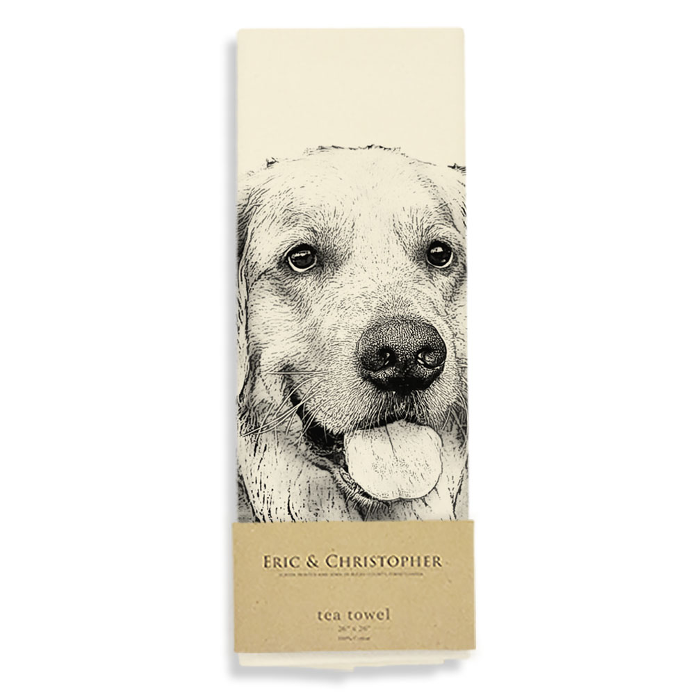 Golden #2 Tea Towel