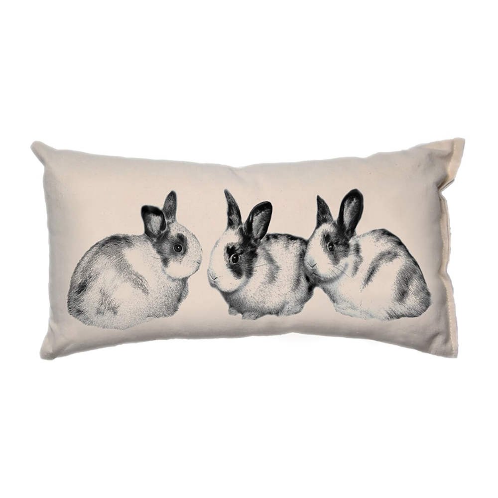 Baby Bunnies__Small Pillow_8x15