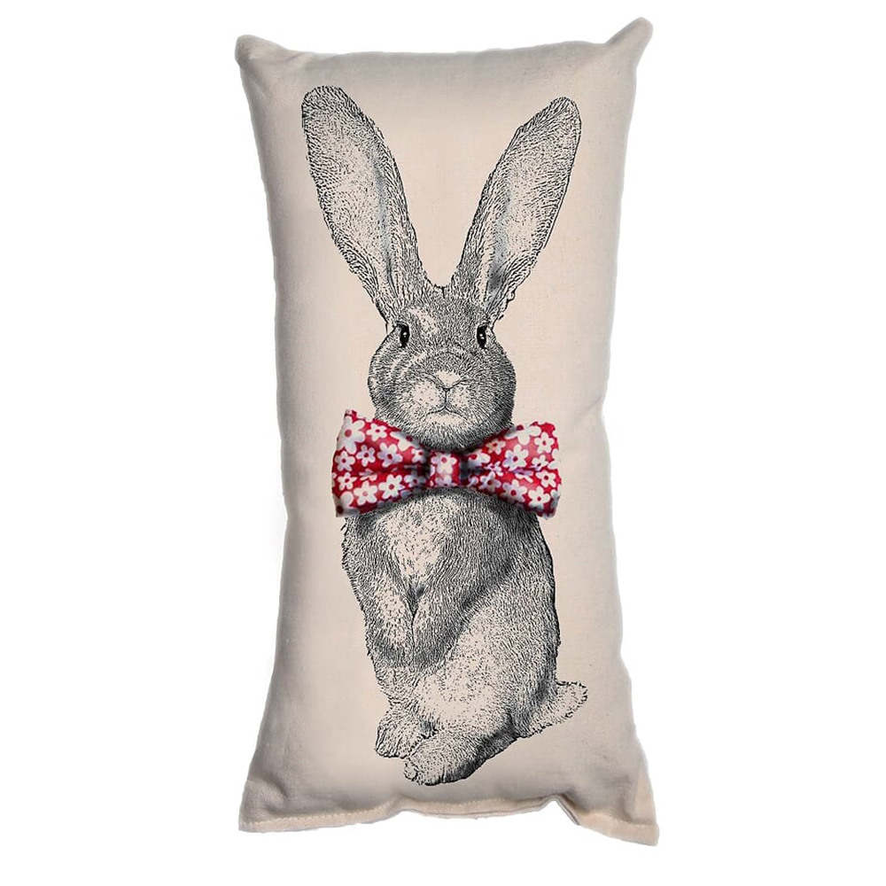 Small Pillow_bunny 1 with floral bow tie (1) (2)